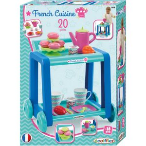 girls ecoiffier tea french cuisine
