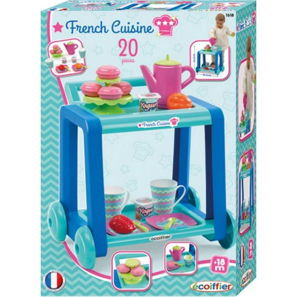 girls ecoiffier tea french cuisine