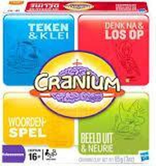 Cranium is het prijswinnende bordspel dat verborgen talenten in mensen naar boven brengt en iedereen de kans biedt om te schitteren
