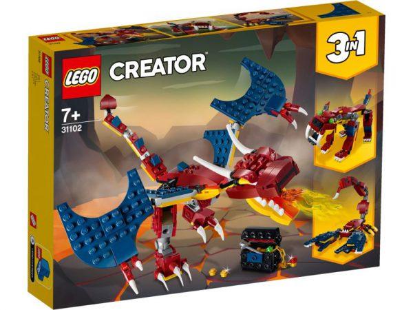 lego creator Vuurdraak