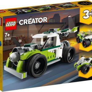 lego creator Raketwagen