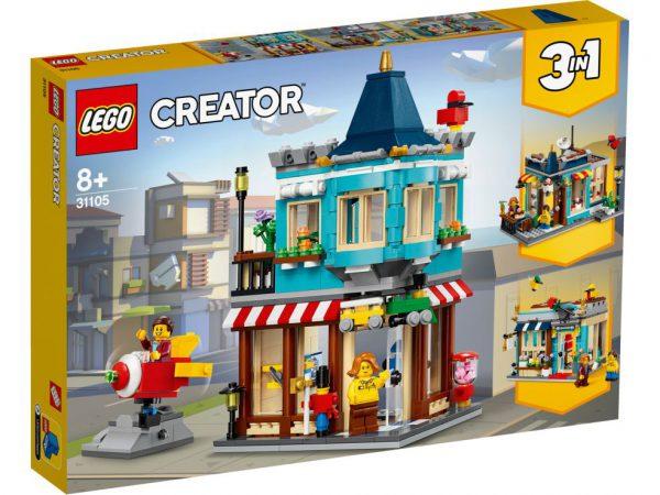 lego creator Woonhuis en speelgoedwinkel