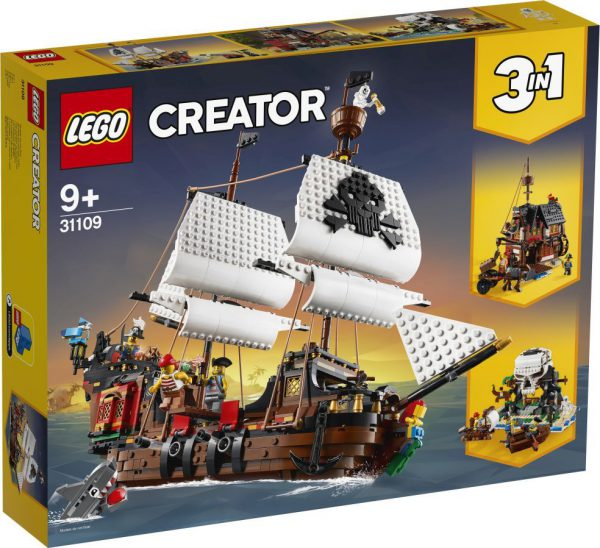 lego creator Piratenschip °°