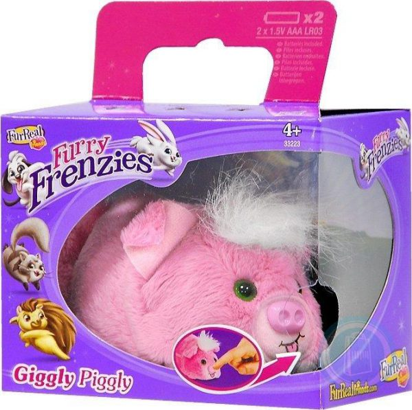 FurReal Friends Furry Frenzies Giggly Pigly