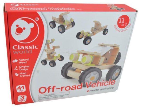Off-road vehicule