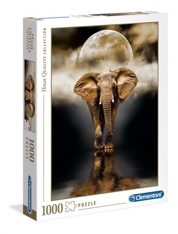 puzzel clementoni 1000 st ass olifant
