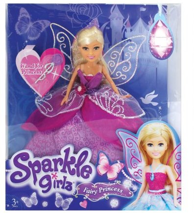girls sparkle fairy princess