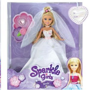 girls sparkle girlz bride