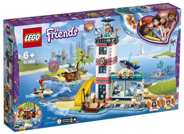 lego friends Reddingscentrum in de vuurtoren