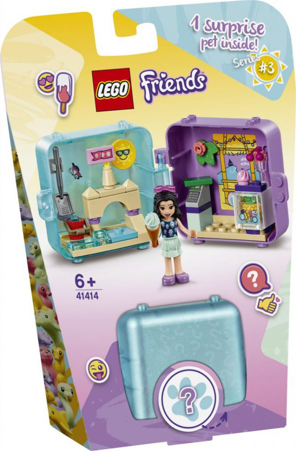 lego friends Emma's zomerspeelkubus
