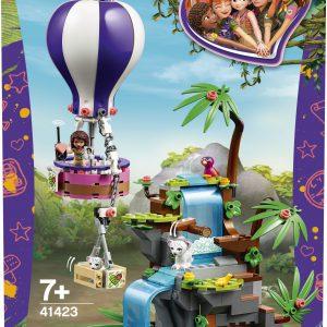 lego friends Tijger reddingsactie met luchtballon