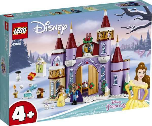 lego disney Belle's kasteel winterfeest