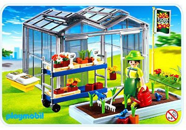 playmobil city life serre