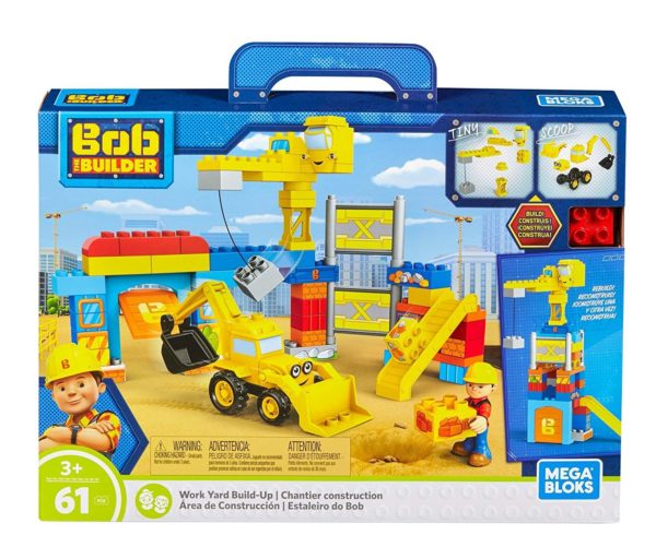 Bob the builder work yard Build-up