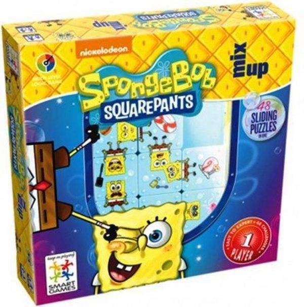 sponge bob sliding puzzle