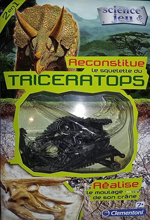 Reconstruct het skelet van een triceratops