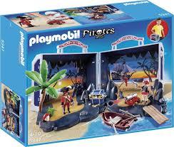 playmobil piraten eiland koffer