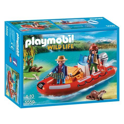 playmobil wild life boot