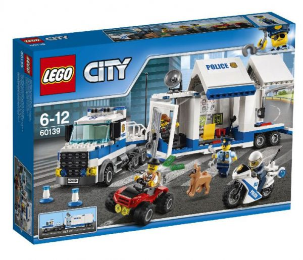 lego city Mobiele commandocentrale