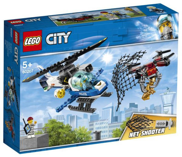 lego city Luchtpolitie drone-achtervolging