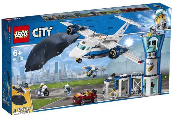 lego city Luchtpolitie luchtmachtbasis