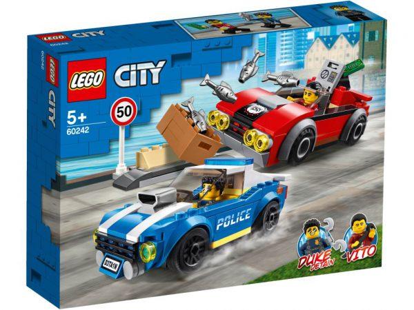 lego city Politiearrest op de snelweg