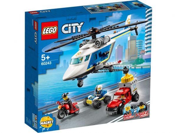 lego city Politiehelikopter achtervolging