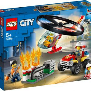lego city Brandweerhelikopter reddingsoperatie