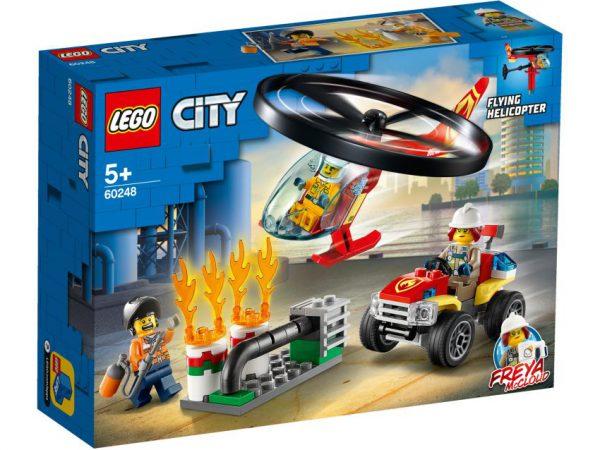 lego city Brandweerhelikopter reddingsoperatie