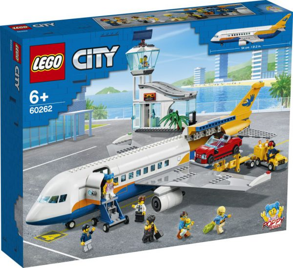 lego city Passagiersvliegtuig °°