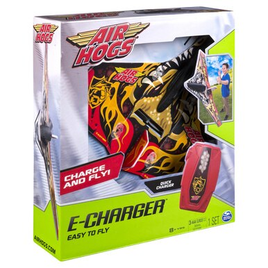 Air hogs E-charger plane (rood)