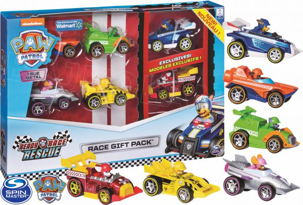 paw patrol race gift pack