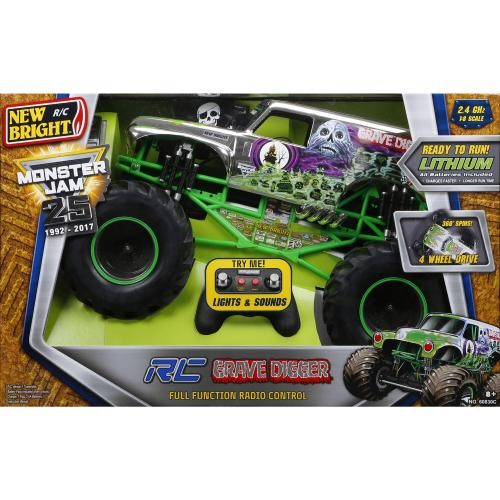 RC monster jam GRAVE DIGGER