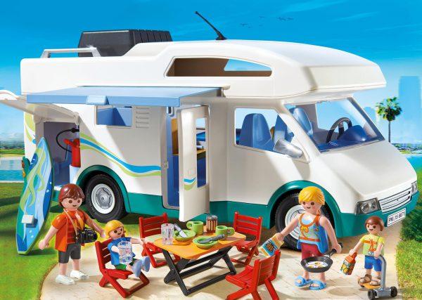playmobil camper met zeer veel accessoires