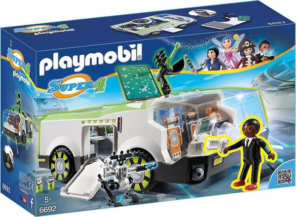 playmobil super 4 space wagen