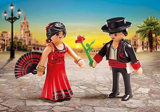 flamenco dansers duo pack