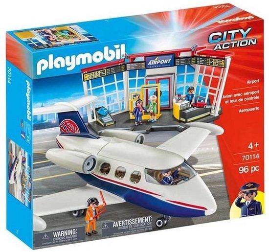 playmobil 70114 de grote luchthaven