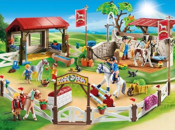 playmobil  grote ponyfarm