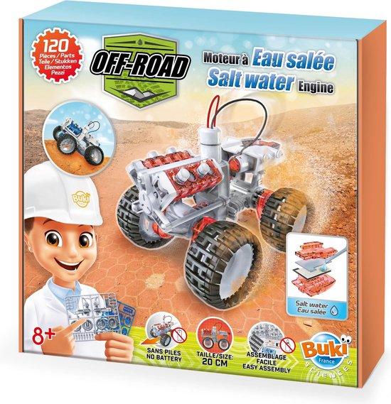 Monteer de onderdelen en bouw een 4x4 die op zout water rijdt