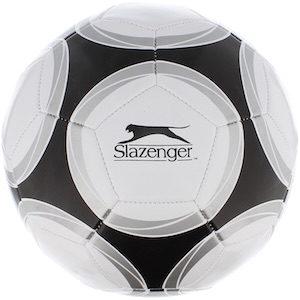 Voetbal, zwart, grijs en wit