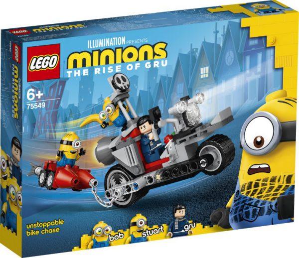lego Minions - Enerverende motorachtervolging