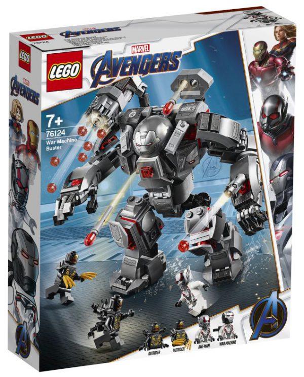 lego  Avengers - War Machine Buster