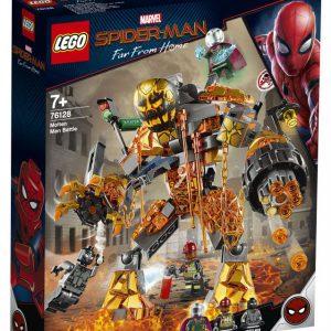 lego Spiderman - Molten Man duel