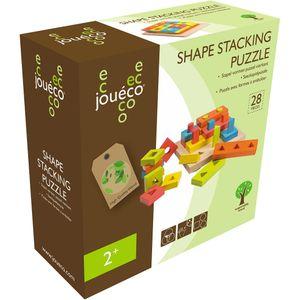 Stapel vormen puzzel vierkant