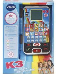 K3 Bel & Leer smartphone, Bellen met Hanne, Marthe en klaasje 3+ Jaar