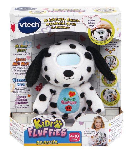 Kidi fluffy Dalmatiër reageert op aanraking, geluid en beweging 4-10 Jaar