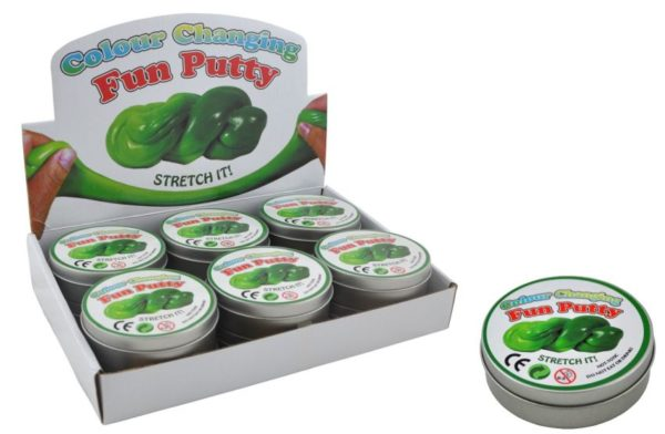 fun putty  colour changing