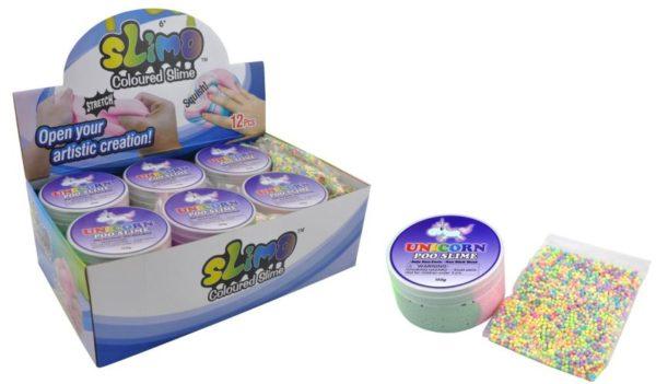unicorn poo slime