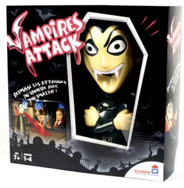Weer de aanvallen van de vampier af