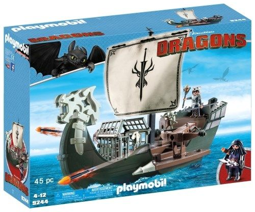 dragons grote aanvalschip